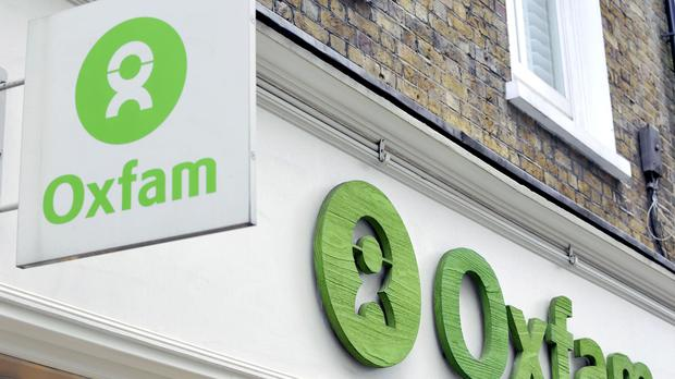 Some criminals sentenced to community service are spending their ordered hours sorting through books and other items donated to Oxfam