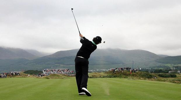 Special buses are being laid on for fans heading for the Irish Open