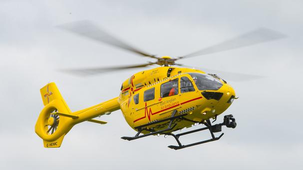 An air ambulance would be a major investment, the minister said