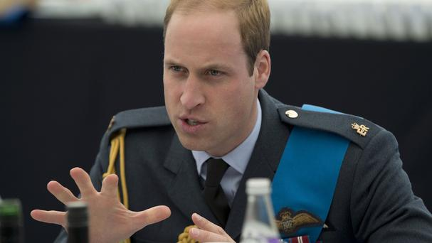 The Duke of Cambridge presented the honours at the investiture