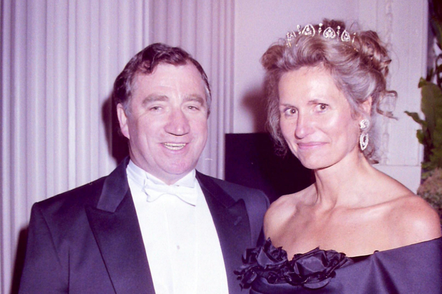 Edward Haughey and wife Mary