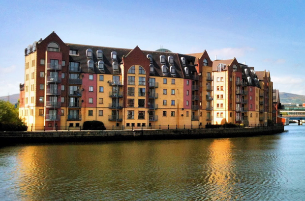 Apartment prices in Northern Ireland have risen 11.7% to £110,545 in the past year