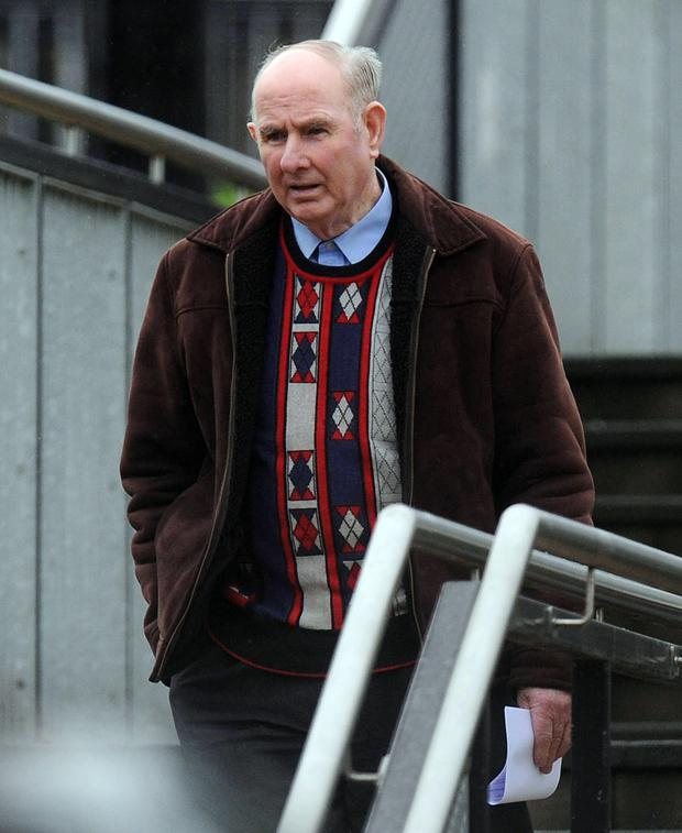 Pensioner Robert McComb admitted multiple breaches of a sexual offences prevention order