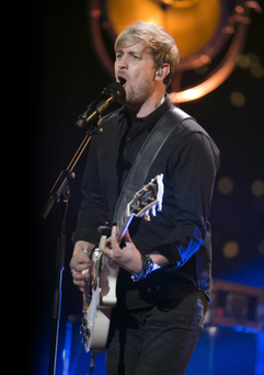 Former boyband star Kian Egan performed for Armagh audience