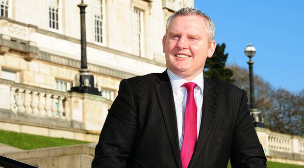 John McCallister has spoken of his quest to normalise politics in Northern Ireland