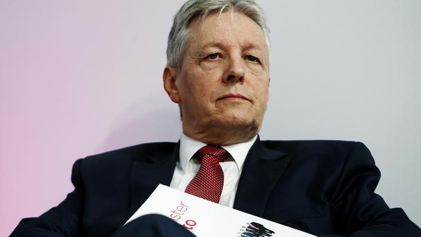 Northern Ireland First Minister Peter Robinson underwent a procedure at Belfast's Royal Victoria Hospital after suffering a suspected heart attack