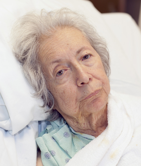 Elderly people have expressed fears over being admitted to a local hospital