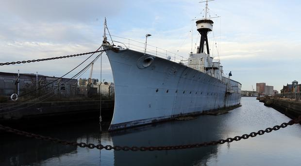 HMS Caroline is the last surviving vessel of the 1916 Battle of Jutland
