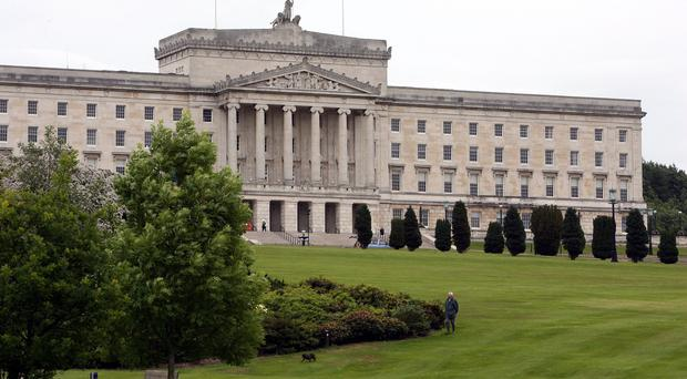 The mood at the Stormont talks was described as varying from denial to acrimony