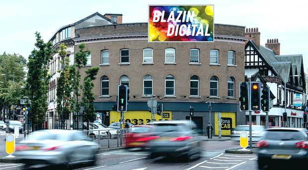 How the new big screen in Belfast's Shaftesbury Square could look