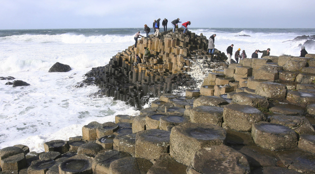 The Giant's Causeway is one of the provinces's most popular attractions