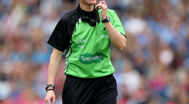 Maggie Farrelly will be the first woman to referee a men's inter-county championship game