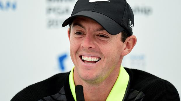Rory McIlroy said things were