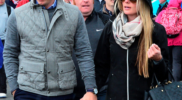 Rory McIlroy with his girlfriend Erica Stoll