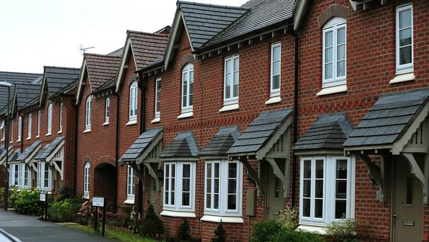 House prices in Northern Ireland have soared by almost 9% in the last year, although they are still only worth around half of their 2007 values, official figures have revealed