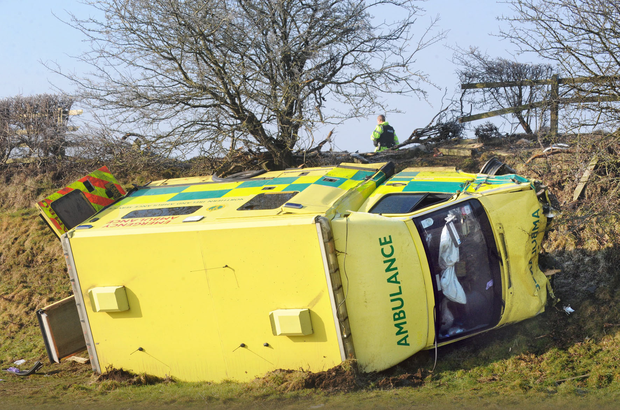 Dr Cathy Armstrong was seriously injured when the ambulance she was travelling in overturned after a crash near Brookeborough in 2011