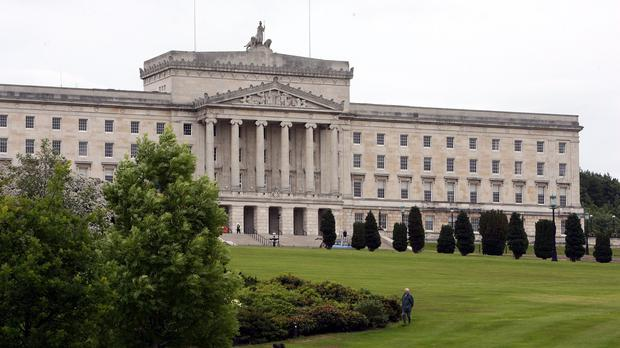 First Minister Peter Robinson said rule over Northern Ireland's finances could return to London
