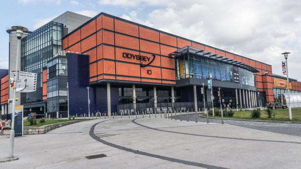 The Odyssey Arena in Belfast will not be open in July and August