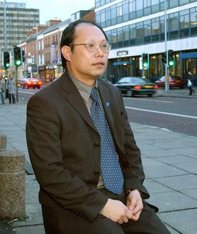 Patrick Yu is thehead of the Northern Ireland Council for Ethnic Minorities