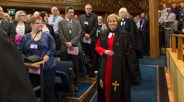The Scottish Presbyterian Assembly voted to allow gay people to serve as ministers