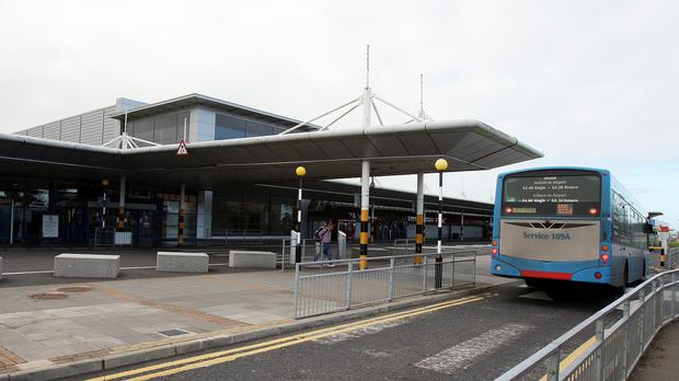 Belfast International Airport bosses have urged passengers to behave