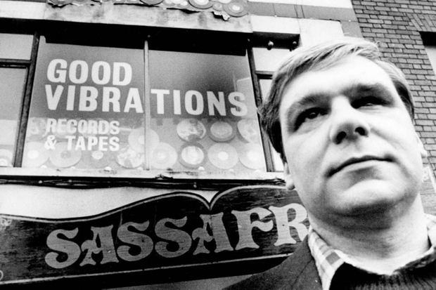 The legendary Terri Hooley, owner of the iconic Good Vibrations record label