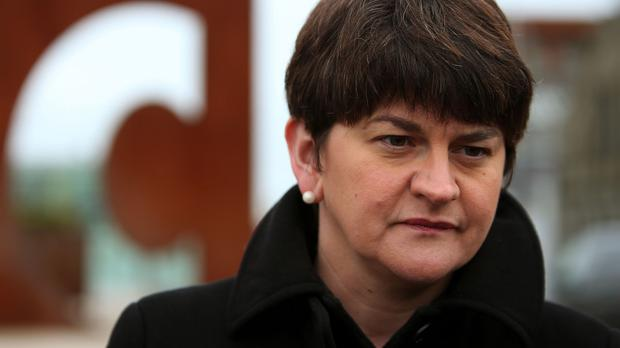 Arlene Foster is responsible for Stormont's budget