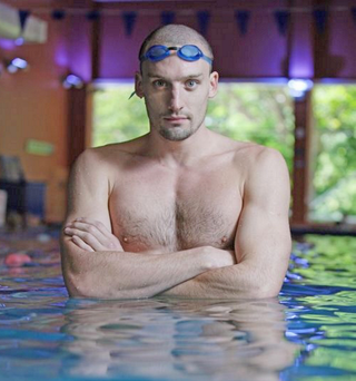Former Olympic swimmer Andrew Bree