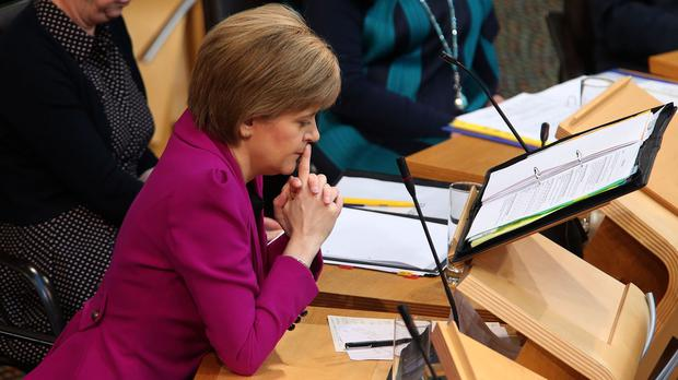 Nicola Sturgeon has strongly criticised plans to replace the Human Rights Act with a British bill of rights