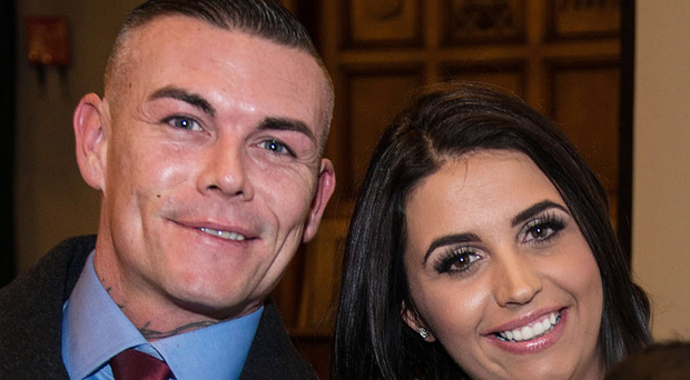 Declan McCallion and his wife Elisha McCallion