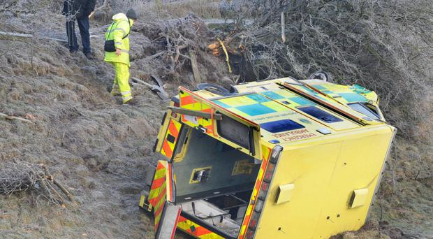 Dr Cathy Armstrong was injured in the ambulance crash