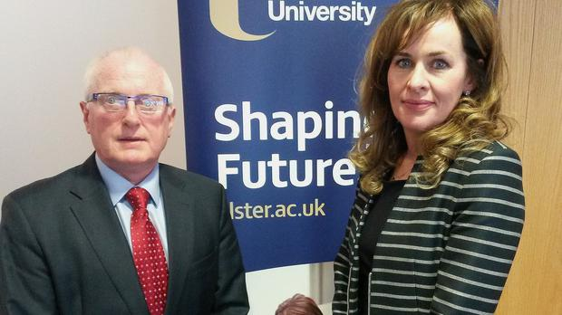 Ulster University's acting vice chancellor Alastair Adair and professor Deirdre Heenan, Ulster University's Pro-Vice-Chancellor of Communication and Provost for the Coleraine and Magee campuses, have warned of the impact of budget cuts