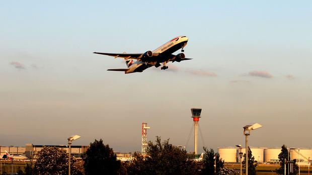 Lord Empyer wants the Government to take steps to ensure that the air-links between the national hub of Heathrow and the UK regions are protected in law