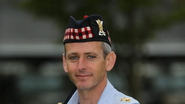 1 Scots commanding officer, Lieutenant Colonel Matt Munro is based at Palace Barracks in Holywood