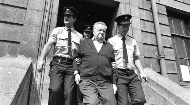 Brendan Smyth at a court appearance in the Republic