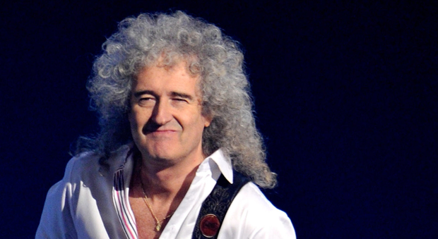 Rock guitarist Brian May