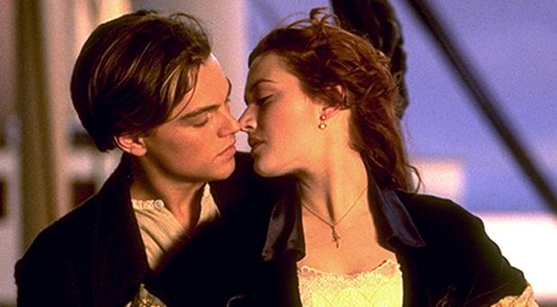 Titanic film stars Leonardo DiCaprio and Kate Winslet