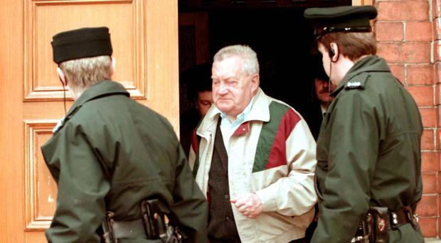 Brendan Smyth had asked gardai to be informed of his medical treatment