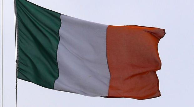 Questions had been raised about the non-appearance of the Irish tricolour