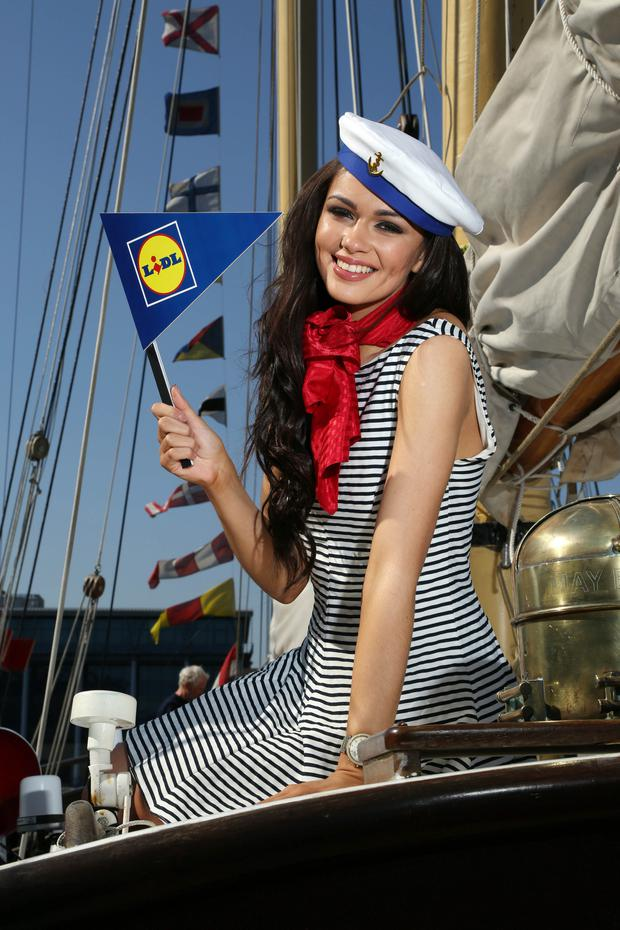 With less than a week to go, Rebekah Shirley is inviting everyone to experience the Tall Ships Races from July 2-5
