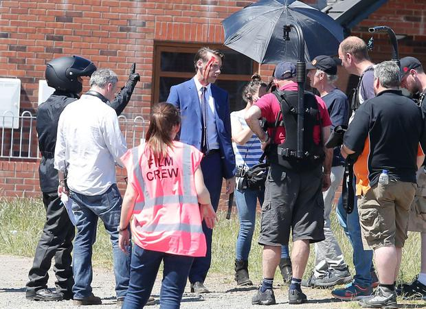 BBC drama Line Of Duty being filmed in south Belfast