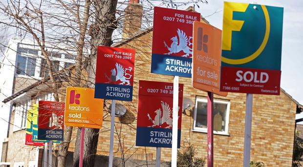 Northern Ireland has overtaken London as the UK region with the fastest growing property prices after year-on-year prices rose by 8%, a survey has found