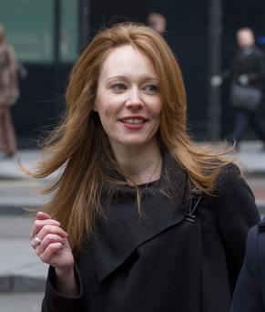 Aofie Madden arrives at Southwark Crown Court for sentencing two years ago