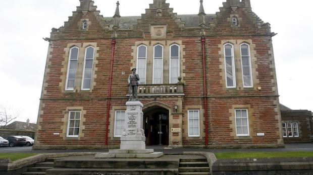 The two men will appear at Stranraer Sheriff Court