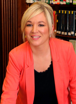 Agriculture Minister Michelle O'Neill announced the new trade deal