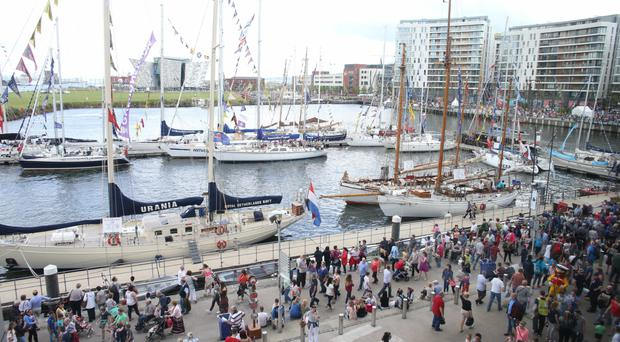 Thousands flock to the Tall Ships Festival in Belfast