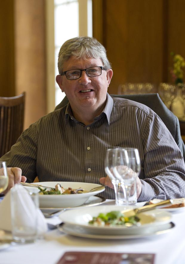 Our man Noel McAdam checks out the menu at Stormont Members' Dining Room