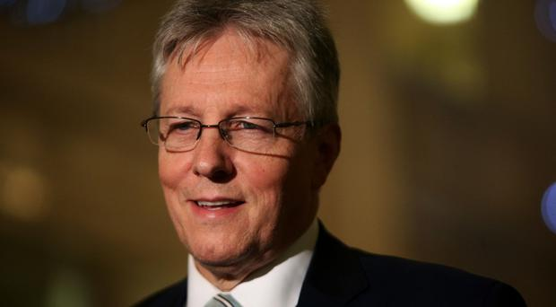 Peter Robinson says Nazi flags 'have nothing to do with unionism'
