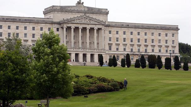 Legislation has been passed to devolve the responsibility for setting the rate to Stormont