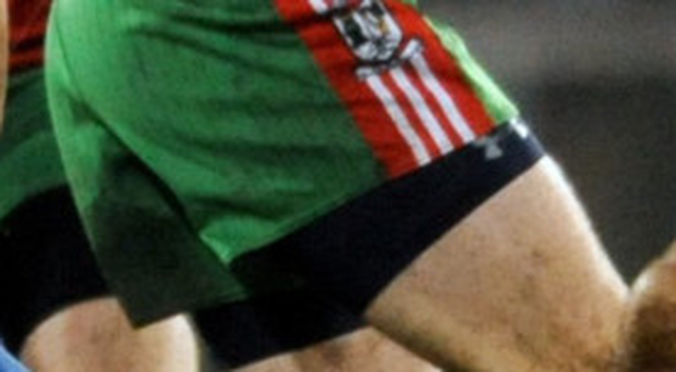 Fractures: Davy Byrne playing for his club